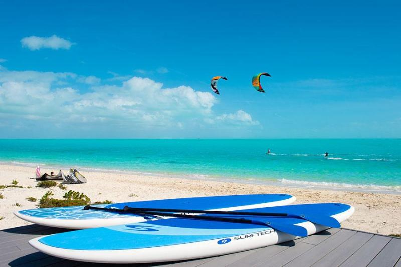 SUP Stand Up Paddleboards - for guest use at Windhaven Beach Villas on Providenciales