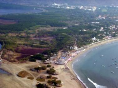 5/9 miles walk to Santiago peninsula,  Private Beach Club on 12 miles of sandy beach