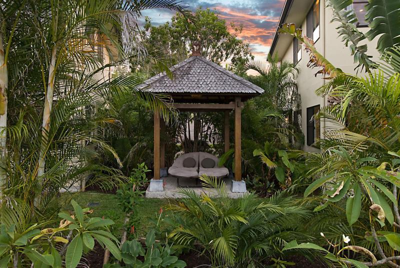 Cabana de Bali jardim