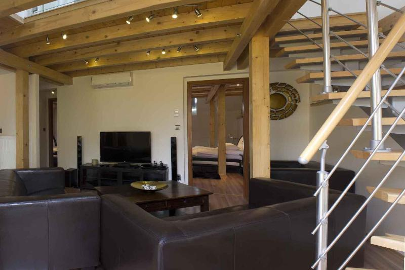Living room (Downstairs) - Attic Olivova II - Luxury Four Bedroom Apartment