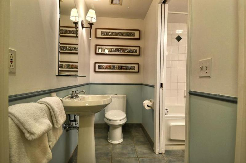 Private Bathroom - Accessible from Guest Bedroom or Common Area Near Condo Entrance