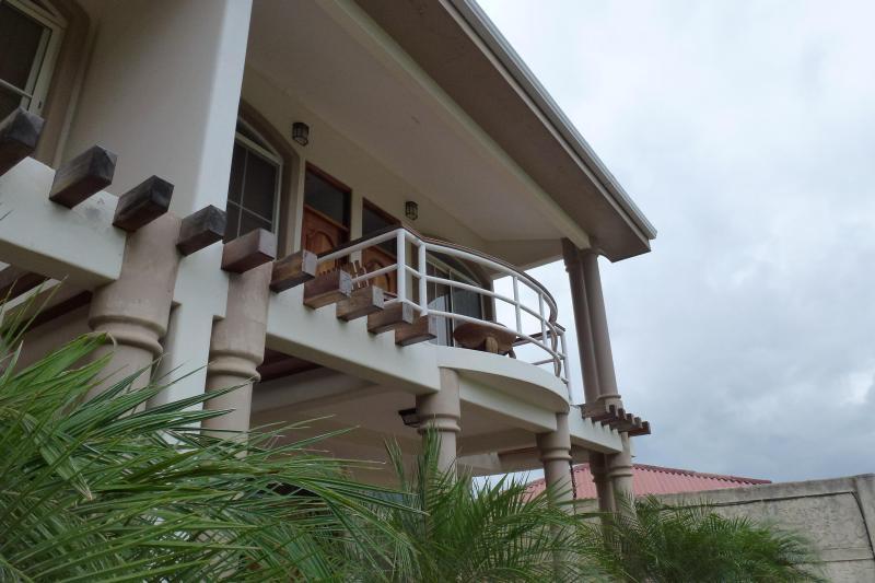 Balcón de dormitorios