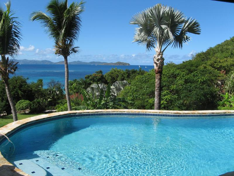 Villa ValMarc, Mahoe Bay,Virgin Gorda, BVI villa 4 bdrm 4 bath with pool, holiday rental in Little Trunk Bay