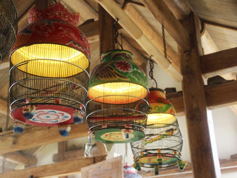 Traditional Birdcage Lights