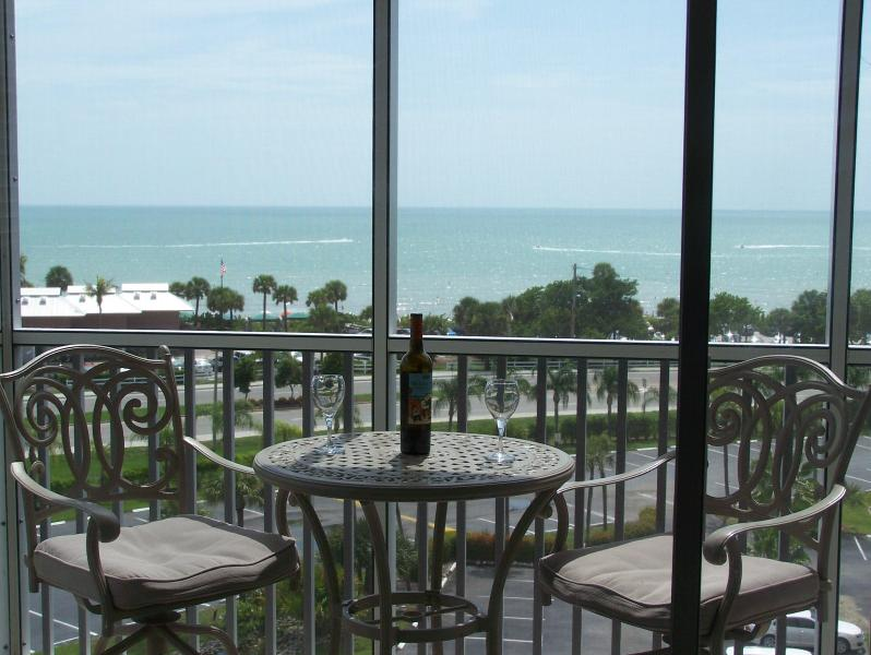 Your Gulf view from your private balcony lanai!