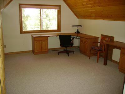 upstairs loft/office