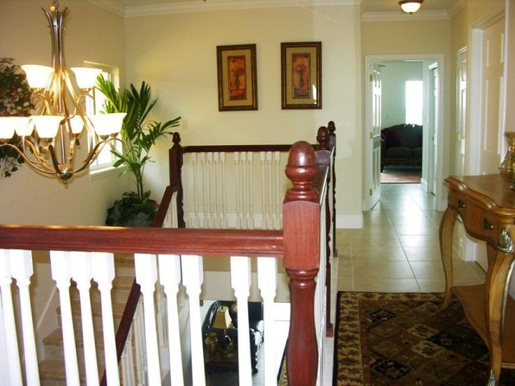 Spacious hallway leads to 3 bedrooms and bathrooms  on  3rd floor