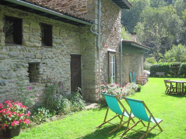 Charming stone cottage by a mountain stream in the heart of the Ariége  natural park