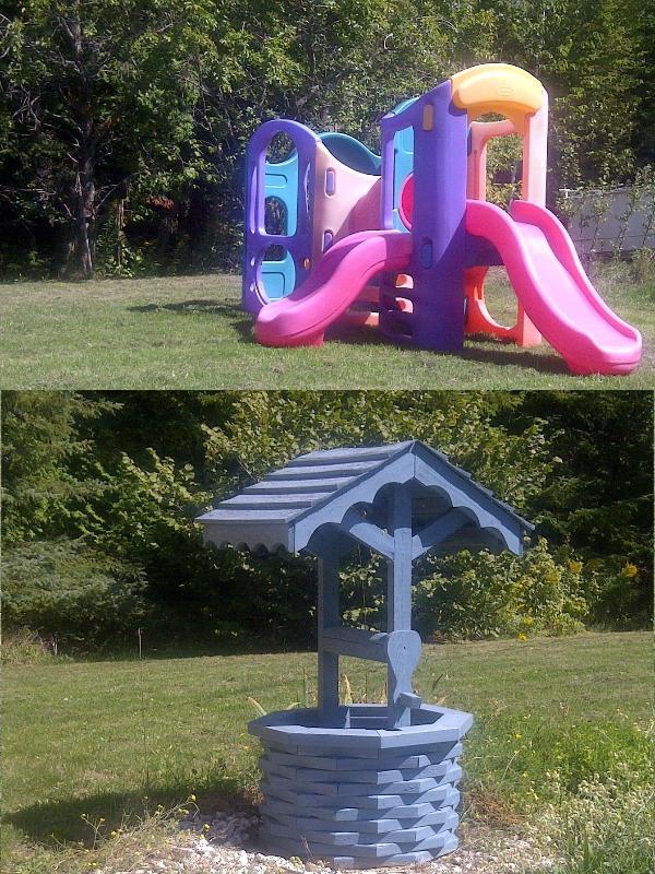 Jungle Gym / Wishing Well - On Property