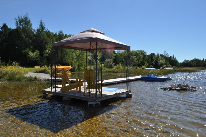New Dock Pavillion with Chairs