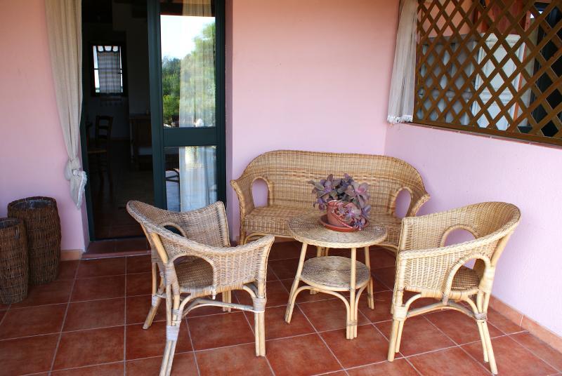 veranda and outdoor furniture