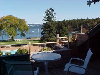 View of Great Harbor from front deck