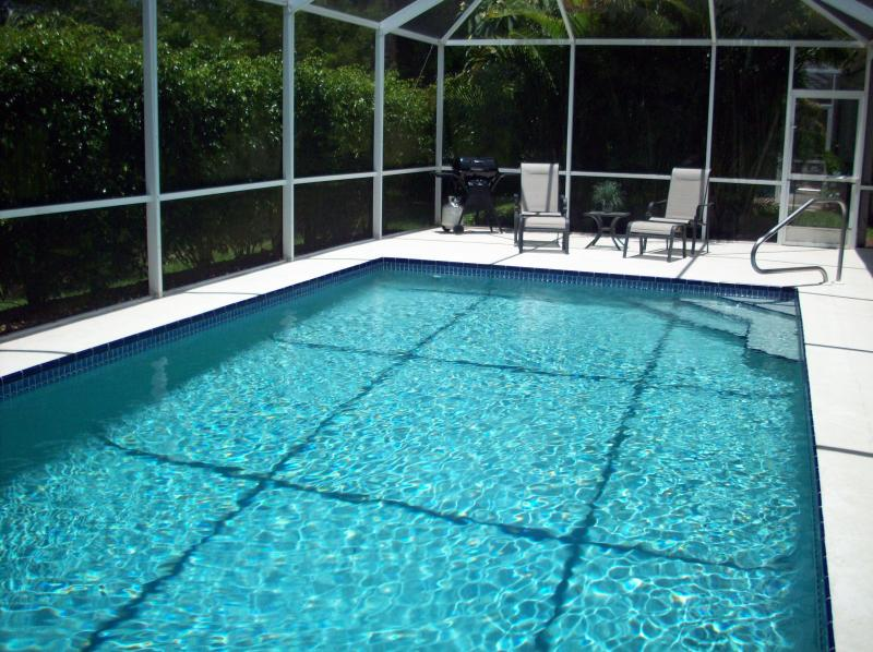 Secluded 14' x 28' Private Heated Pool with Southern Exposure to Enjoy the Sun All Day!