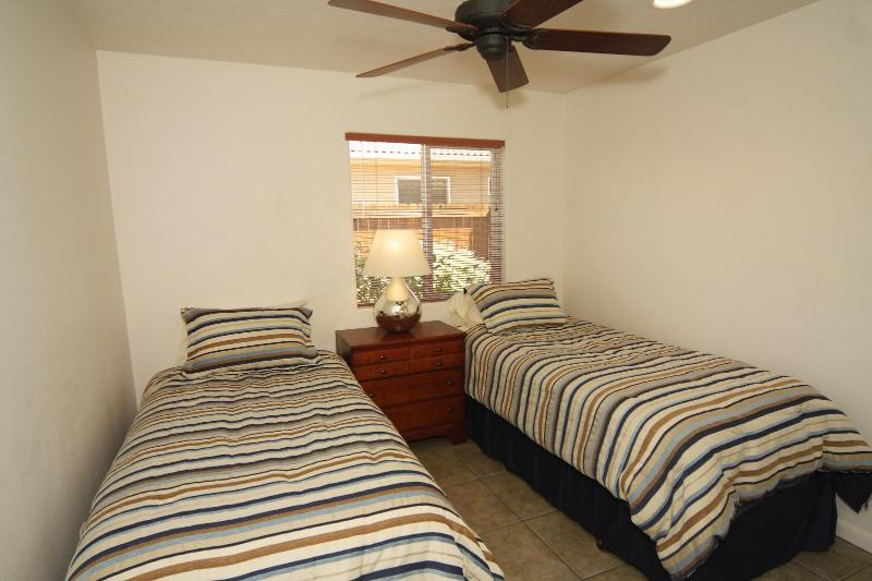 Two Twin Beds in Third Bedroom