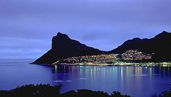 Fairyland vista en la noche - impresionante!