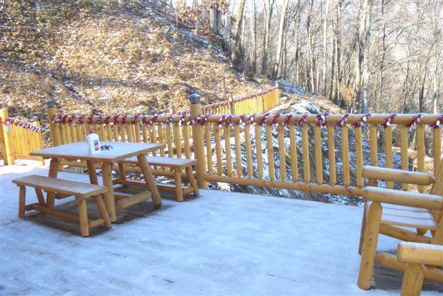 Neve sul ponte lato