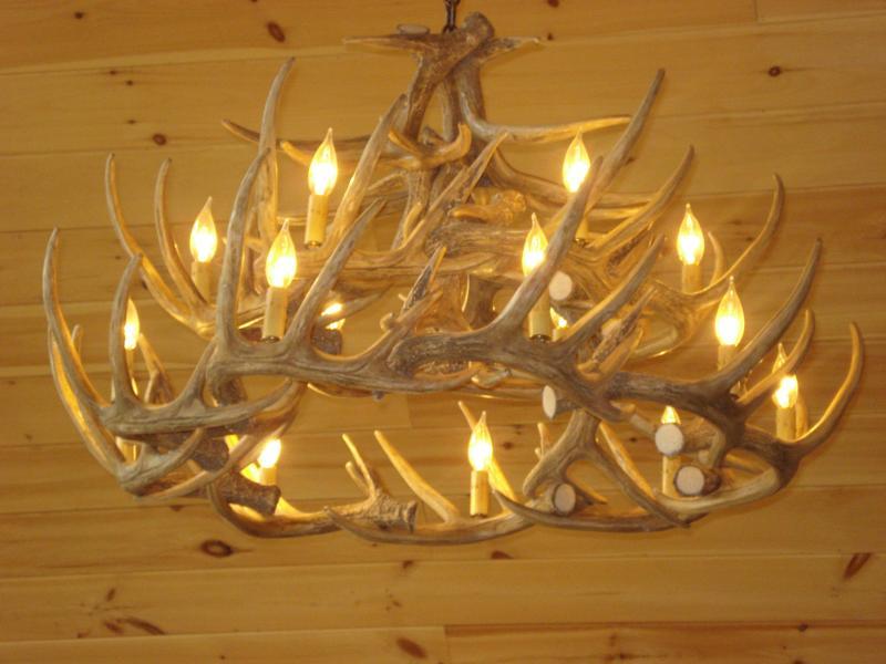 Antler lampadario