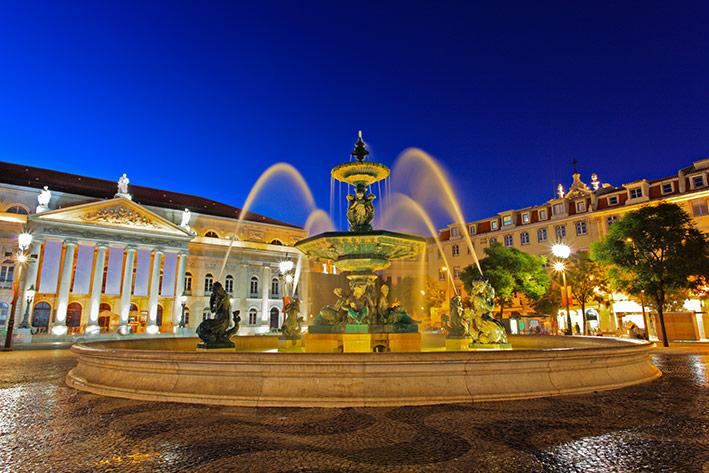 Apartment Location. Very Central, 100 mts from Rossio Square.