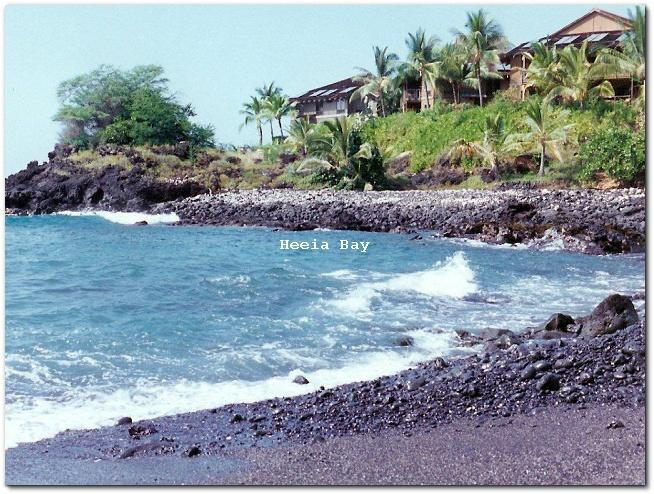 He'eia Bay to the south