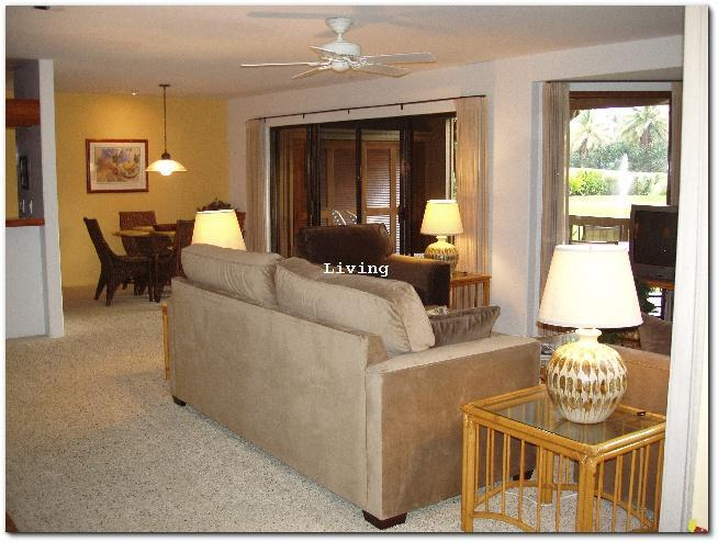 Living room from the entrance