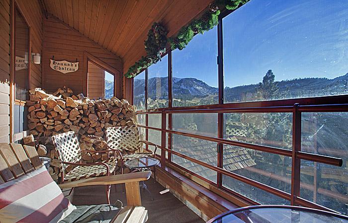 A varanda Interior tem uma vista fantástica!