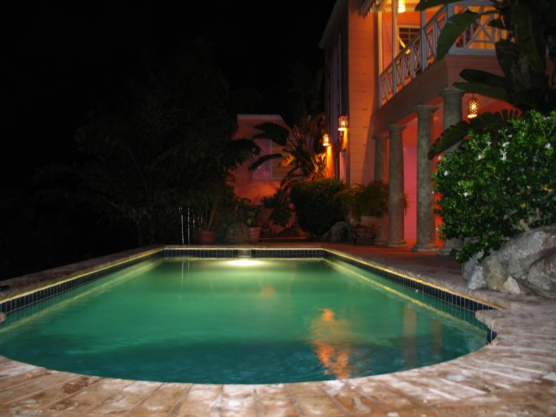 Limin'House at night...SO very romantic!