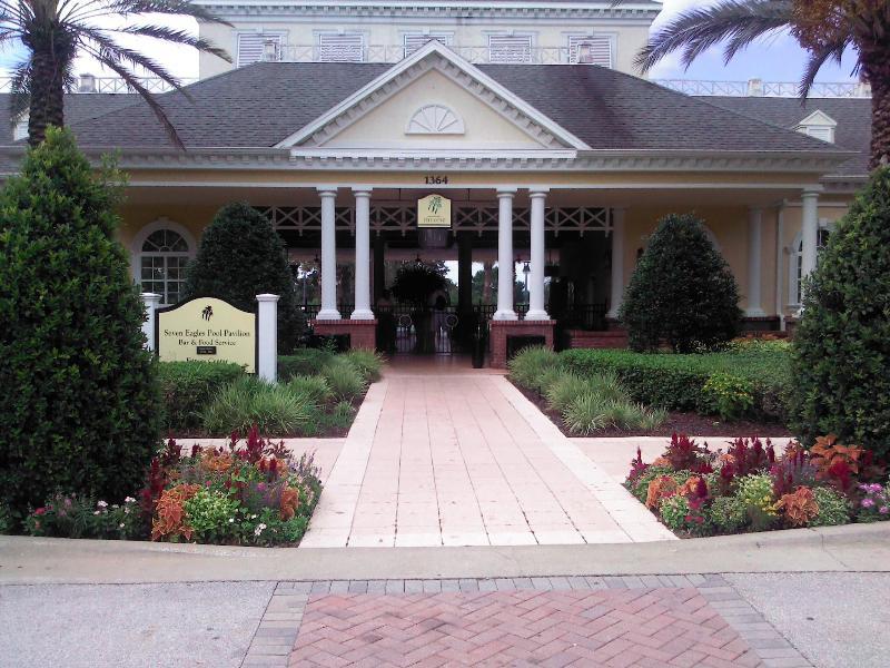 Reunion Resort ,Seven Eagles Pavilion clubhouse