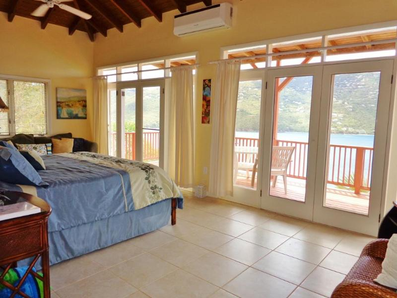 The comfortable and spacious Second Master Suite w/ a private balcony.