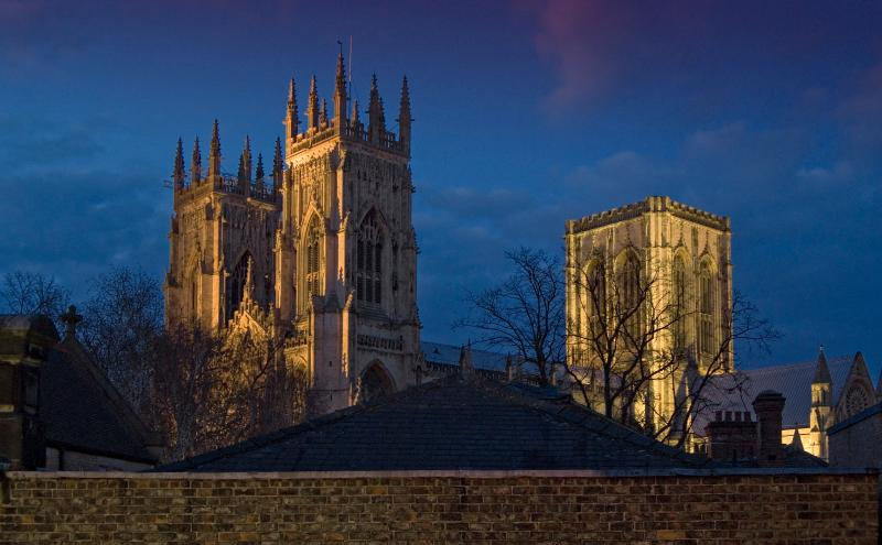 View of York Minster from Master Bedroom