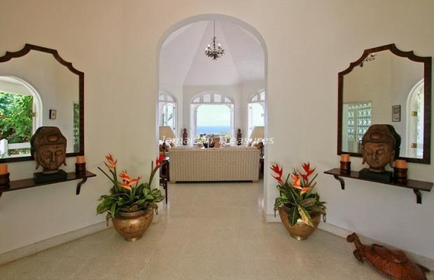 indoor foyer entrance