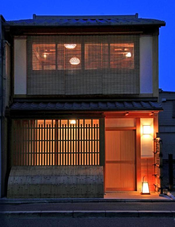 It was repaired Gion historic district building by Kyoto City Gov.
