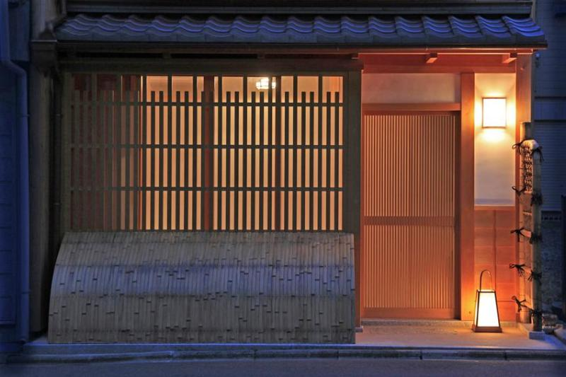 This is developed as Gion style facade.