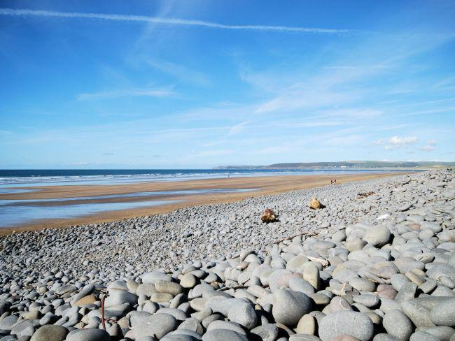 Westward Ho! beach nearby