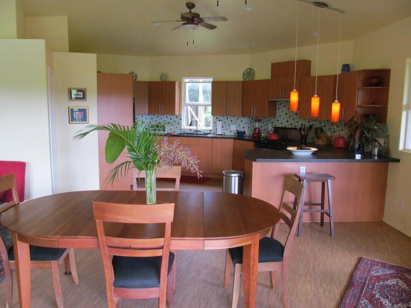 Indoors, enjoy the formal dining room.