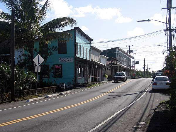 The small town of Pahoa is nearby for groceries and several excellent restaurants