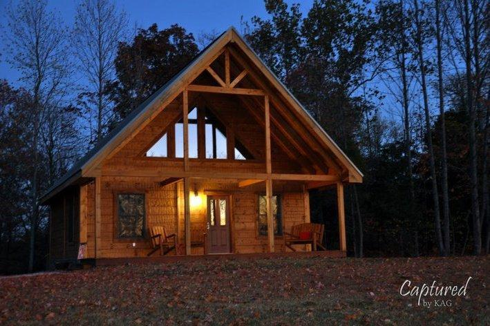 Beautiful log cabin on 20 acres, French Lick, IN, holiday rental in West Baden Springs