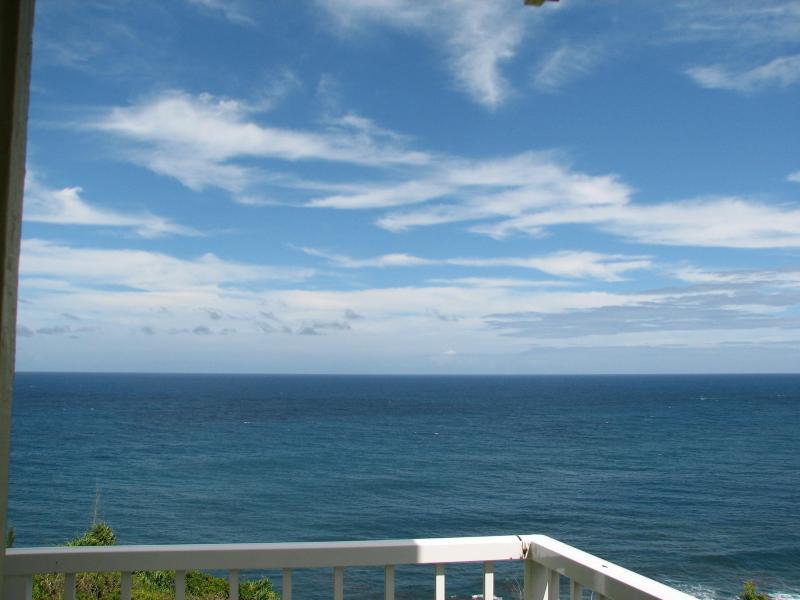 Vista al mar desde lanai