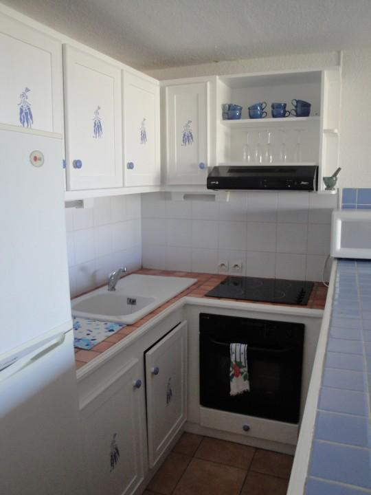 The kitchen ... All appliances provided