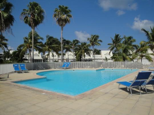 One of the 4 swimming pools in the residence