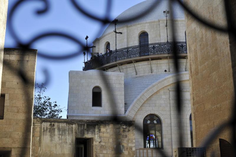 View of Hurva Synagogue