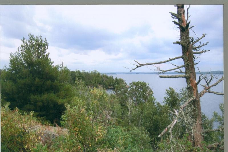 Uitzicht op het meer