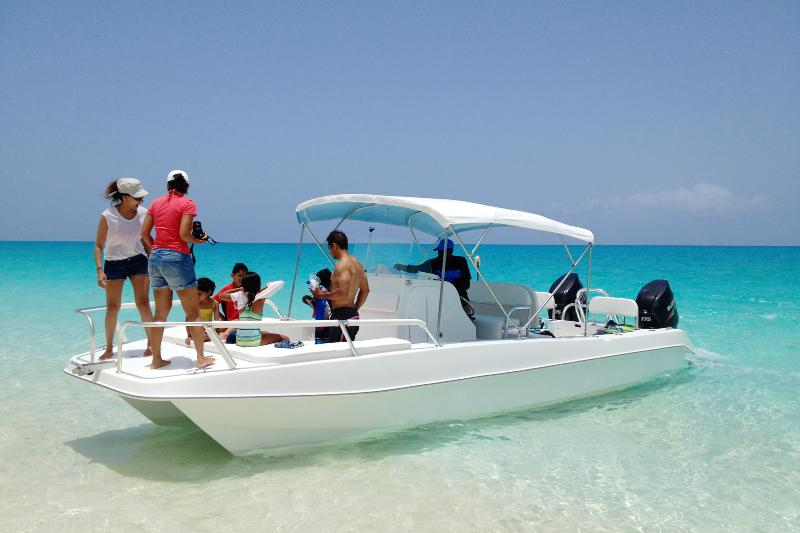 Optional boat rental with captain
