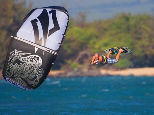 Kite boarding en Mui Ne