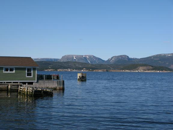 View from Woody Point waterfront