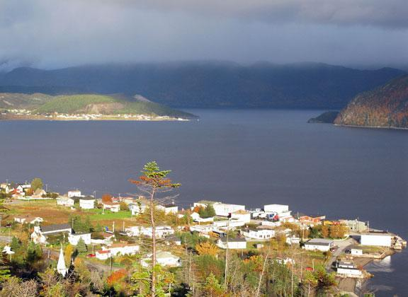 Woody Point in Autumn