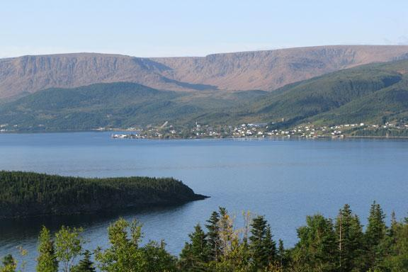 Woody Point from Norris Point