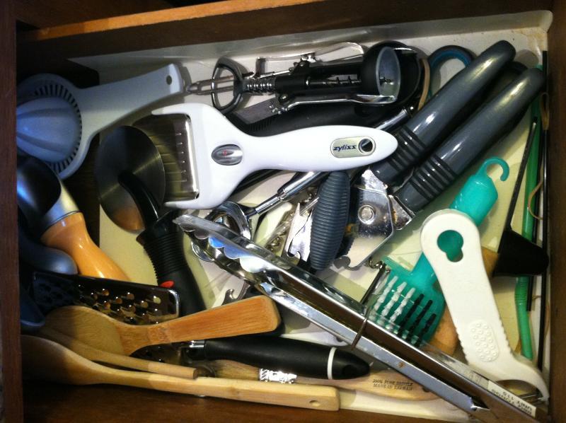 Need a utensil?  Got it here.... :)