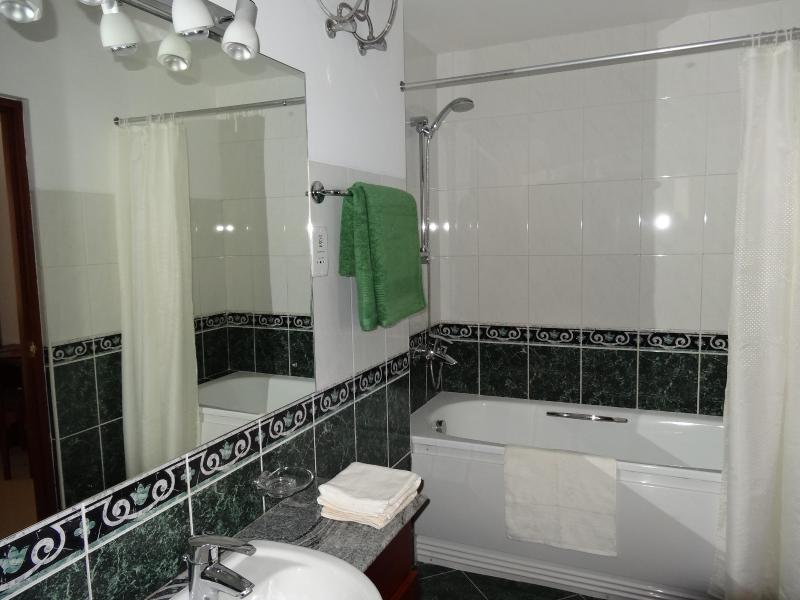 Bath Room attached to Master Bed Room Bath Tub and hot water