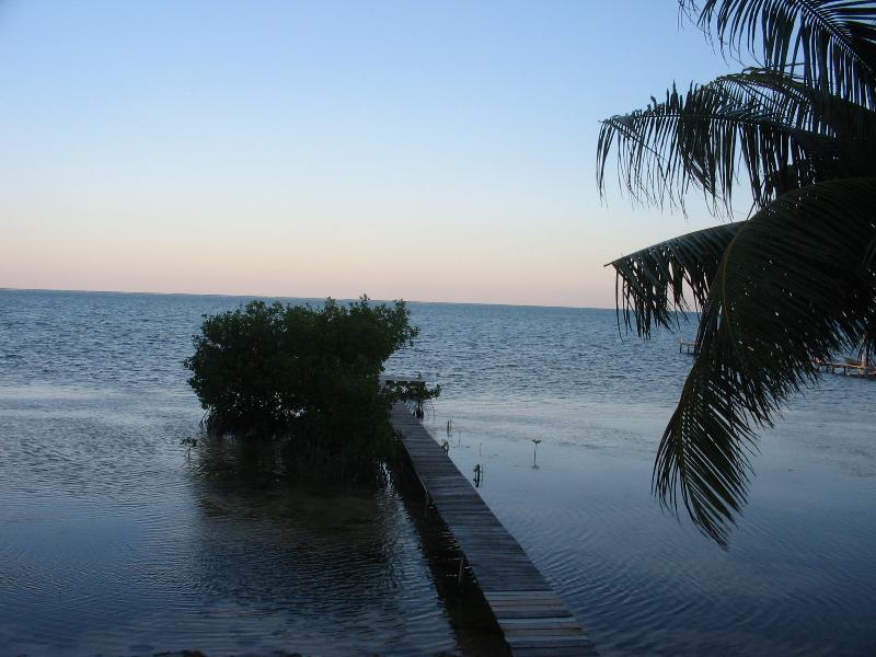 Vista previa del amanecer desde la cubierta frontal