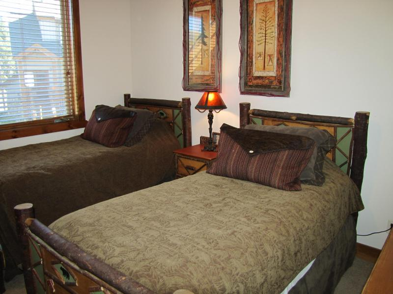 Twin room - Beds can be made up as king